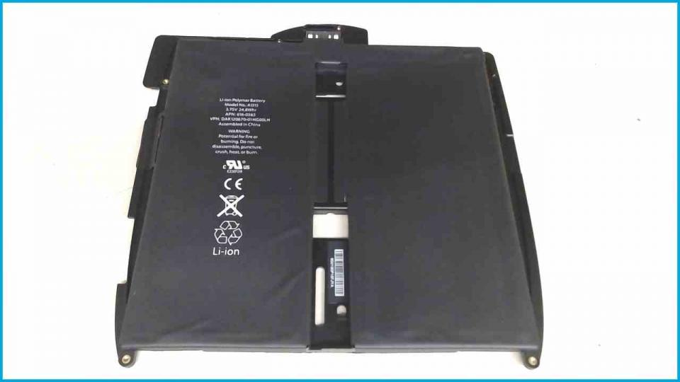 Akku Battery 3.75V 24.8Whr A1315 Apple iPad A1337