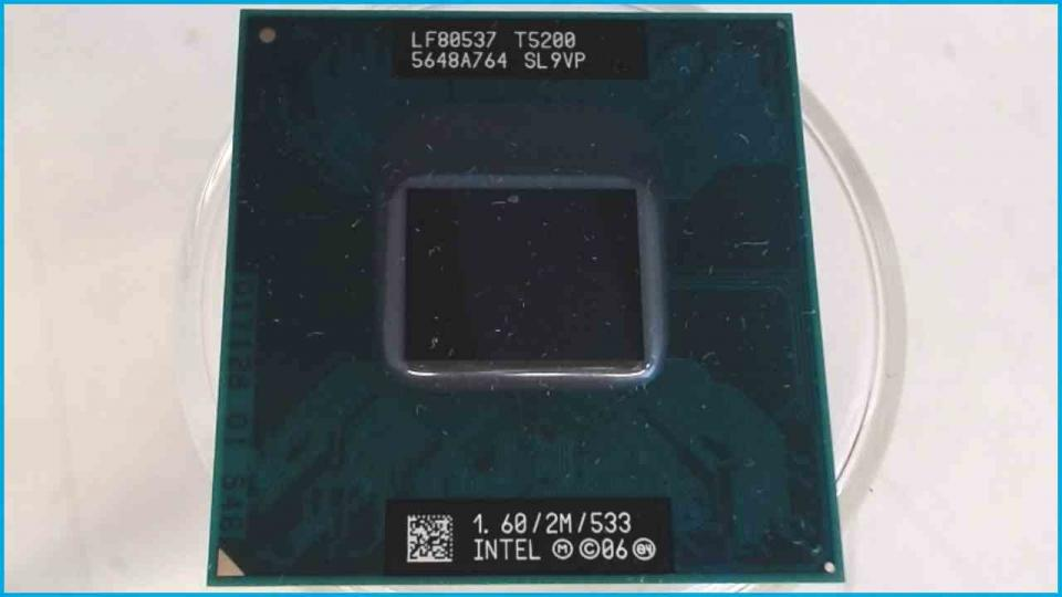CPU Prozessor 1.6 GHz Intel T5200 Core 2 Duo SL9VP HP dv9000 dv9275ea
