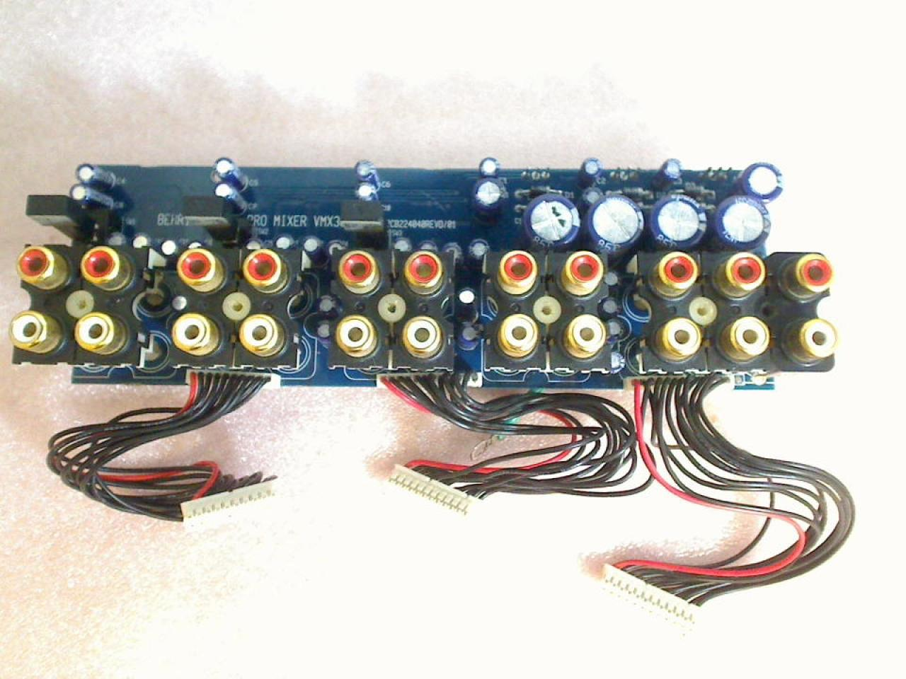 Electronic Board Panel PCB224040REVD/01 Behringer Pro Mixer VMX300