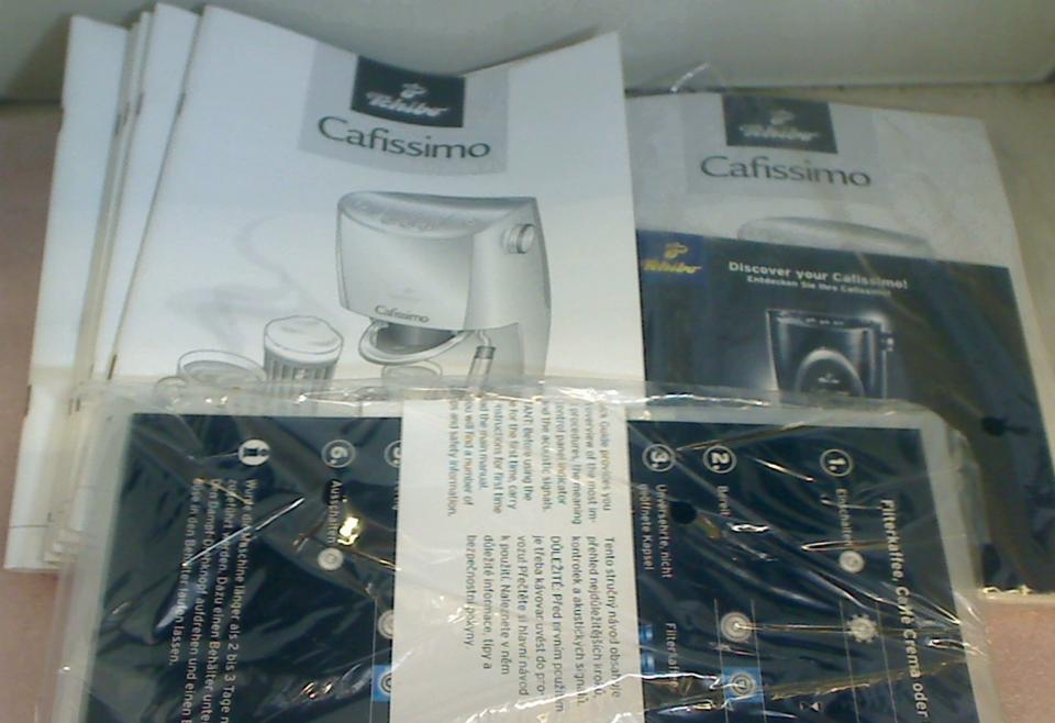 Quick User Guide Bedienungsanleitung Tchibo Cafissimo 241565