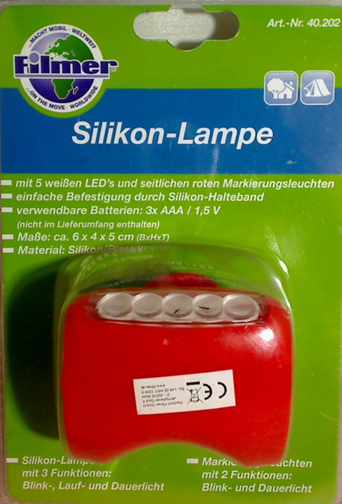 LED Bicycle Lighting Light Silokon-Lampe Rot Filmer bicycle accessories