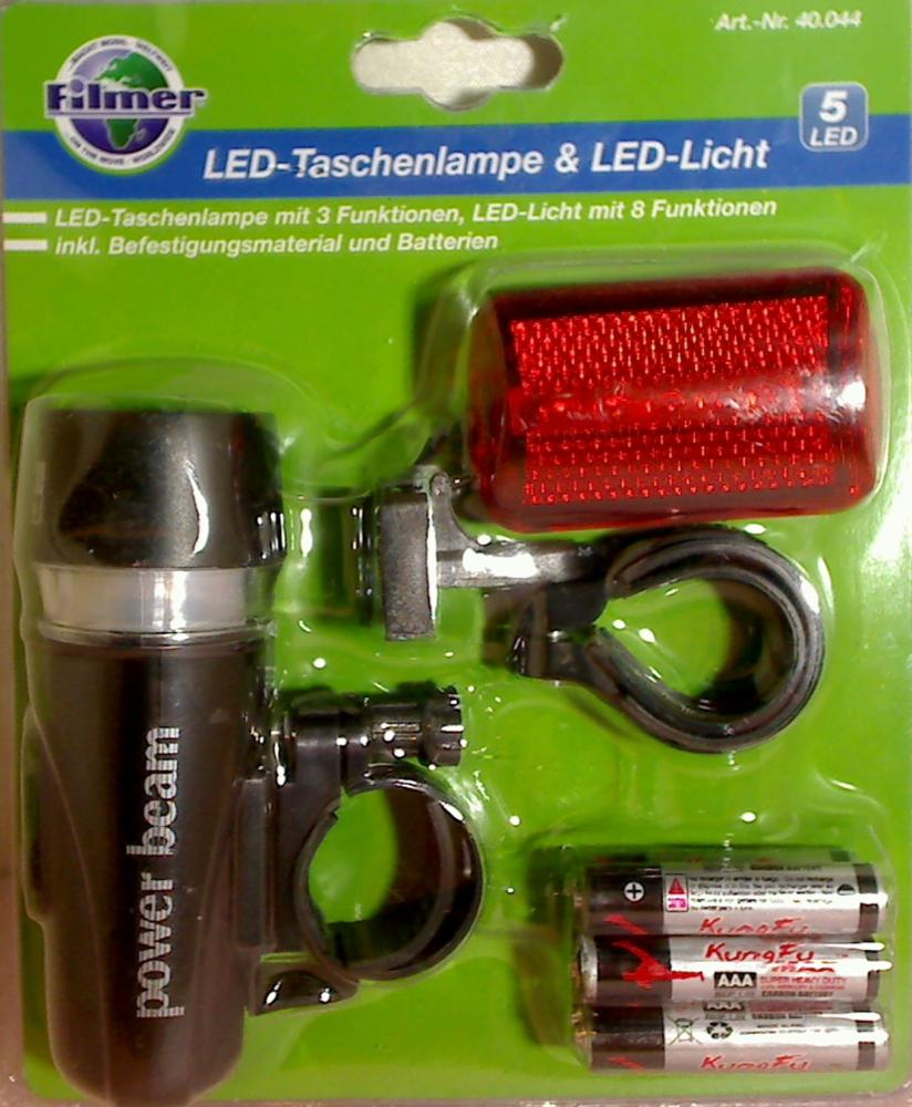 LED-Taschenlampe & LED Licht Filmer bicycle accessories