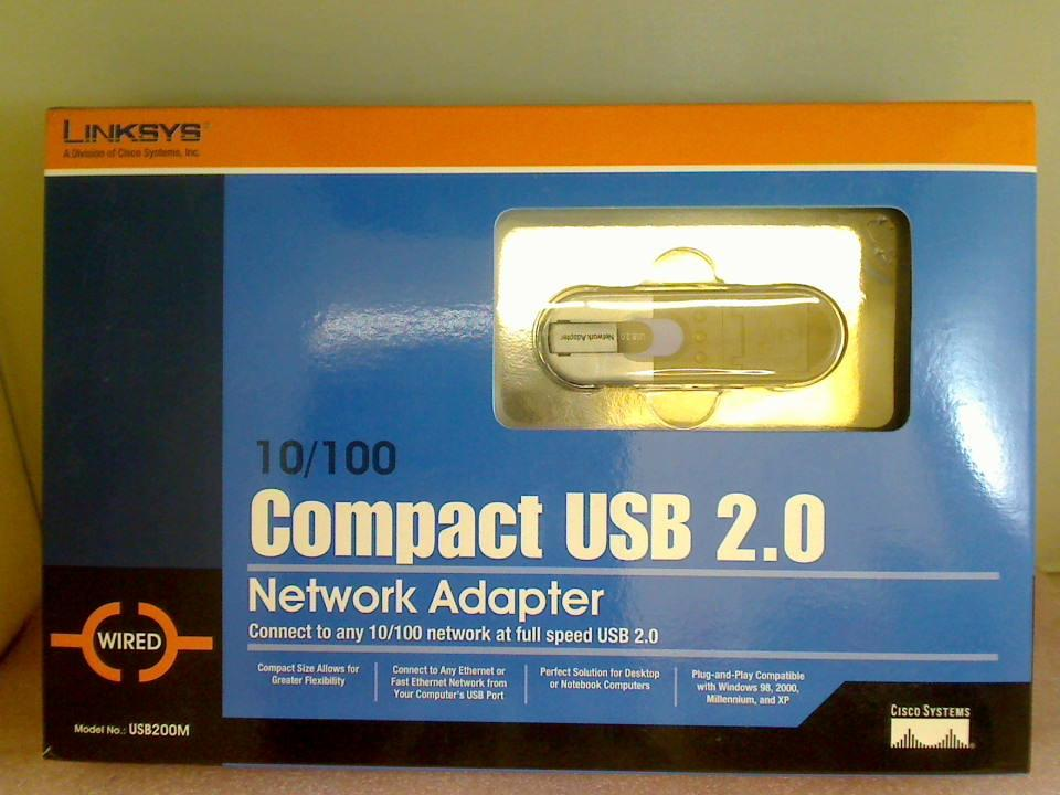 Network Adapter 10/100 Compact USB 2.0 LINKSYS