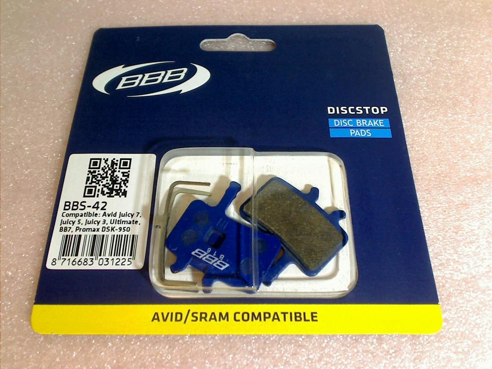 Disc Brake Pads BBS-42 BBB