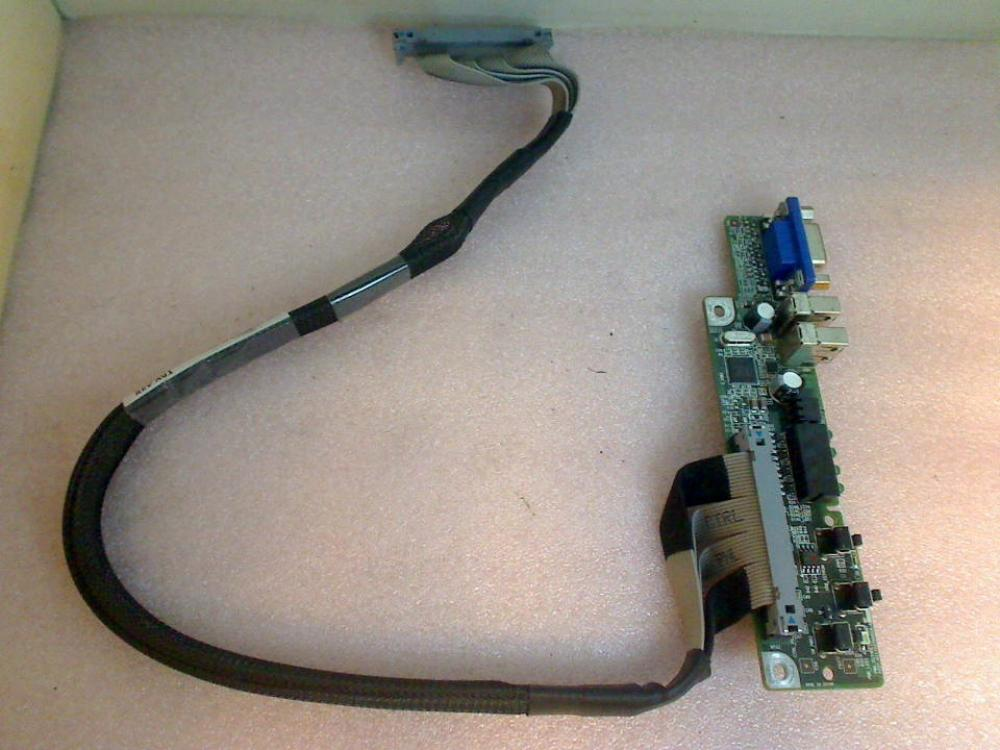 USB Board Electronics Front Panel 00K254 Dell PowerEdge SC 1435 GQYJD4J