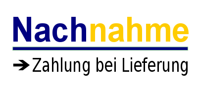 Lieferung auch per Nachnahme