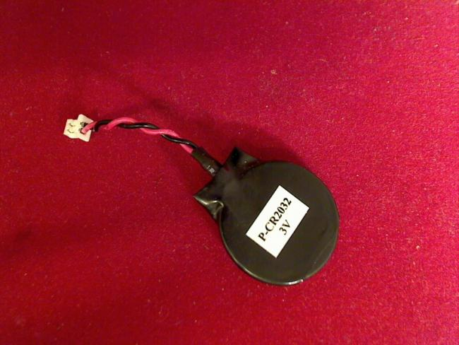 CMOS BIOS Batterie Battery am Kabel Stecker Dell INSPIRON 9400 #1