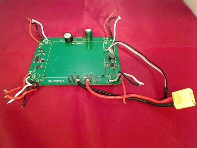 Akkuanschluss circuit board Board Module board with Cables XciteRC Rocket 400 GP