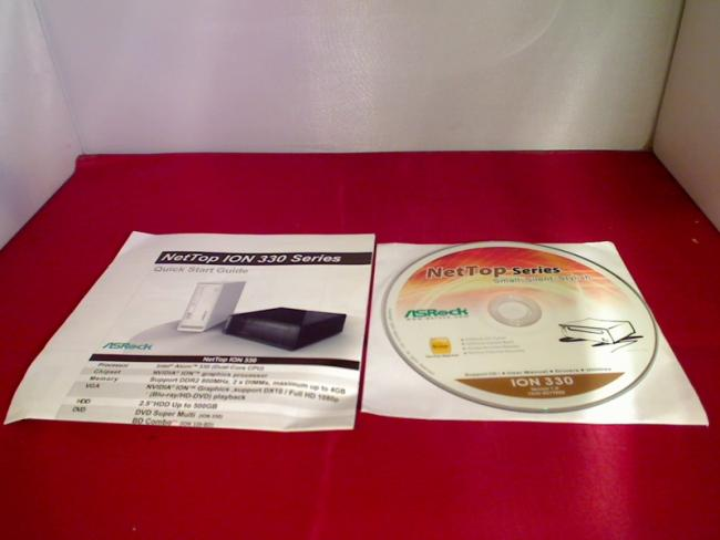 Support CD - User Manual - Drivers - Utilities ASRock NetTop ION 330