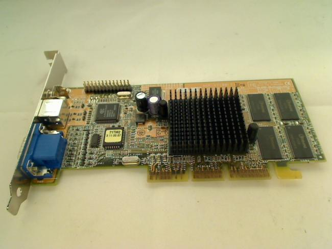 graphics card ASUS AGP-V7100(T) SD 2MX32 (32MB)