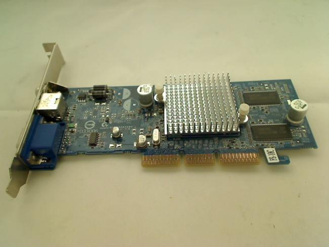 graphics card Gigabyte GV-R92S128T-FS ATI Radeon 9200SE AGP 128MB VGA S-Video TV