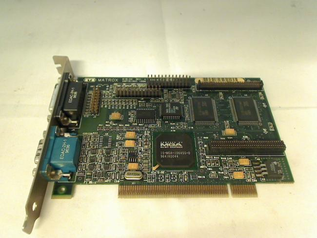 Matrox 618-02 REV:A Mys tique 170 - 2MB PCI graphics card