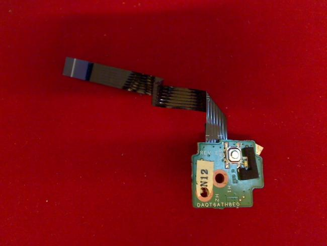 Power Switch Schalter An/Aus ON/OFF Board Kabel cable HP dv5 - 1110eg