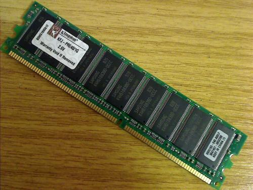 1GB RAM DDR Kingston KFJ-PRE40/1G Fujitsu Siemens PRIMERGY TX150 S3 PS150-D1979