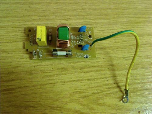 Power power supply circuit board Module board Board from CASO Mikrowelle MCG25 3