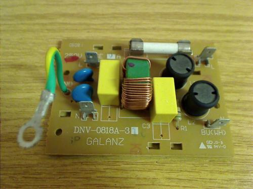 power supply Board circuit board spare part bifinett Microwave Oven KH 1166