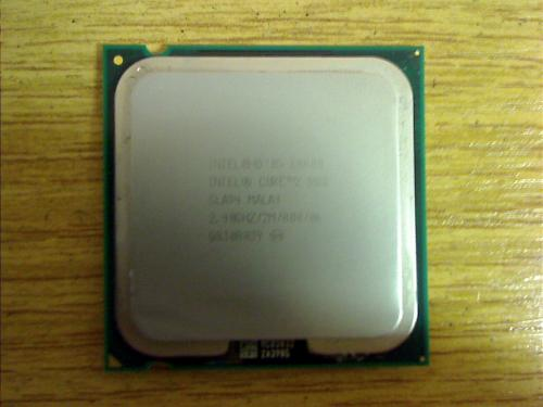 CPU Prozessor Intel 2 x 2,4 GHz E4600 from HP Compaq dx2400 Micotower