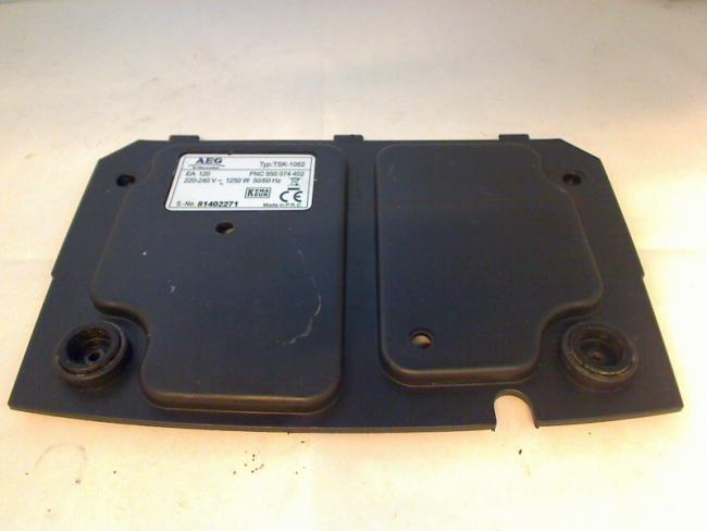 Cases Bottom Fuß Power Cover AEG Electrolux TSK-1062
