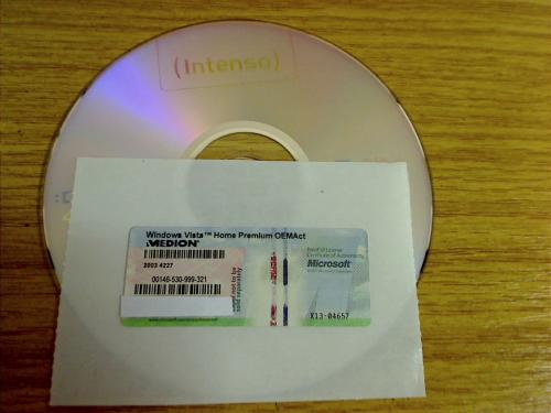 Windows Vista Home Premium OEM - Deutsch 32 Bit
