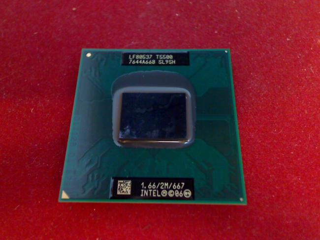 1.66 GHz Intel Core 2 Duo T5500 CPU Prozessor FS E8110 E Series WL1