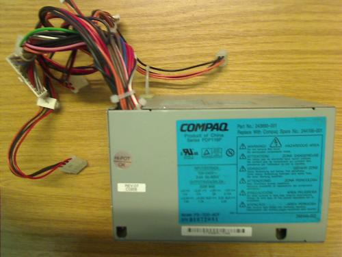 power supply PDP116P 250W from PC Compaq Evo