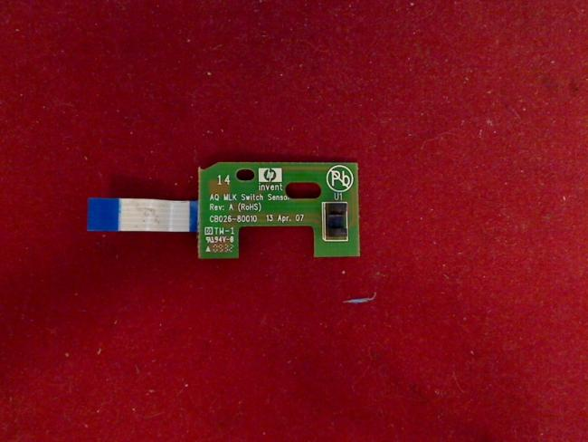 AQ MLK Switch Sensor CB026-80010 Rev: A HP Officejet H470