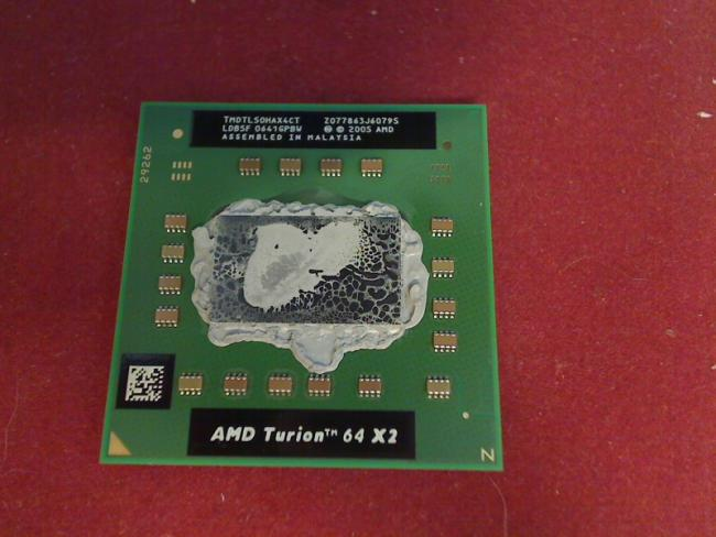 1.6 GHz AMD Turion 64 X2 TL50 TL-50 CPU Prozessor Acer Aspire 9300 MS2195 (1)