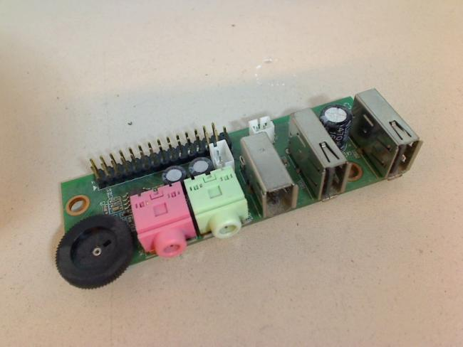 Audio Sound USB Port Board circuit board RM ECOQUIET 2