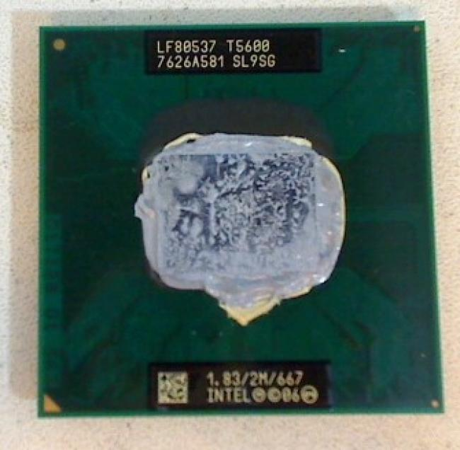 1.83 GHz Intel Core 2 Duo T5600 SL9SG CPU Prozessor Sony PCG-242M