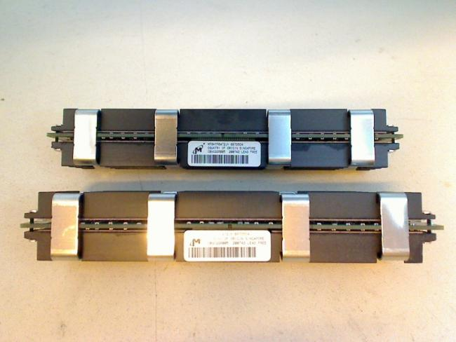 1GB 2x512MB Micron MT9HTF6472JY-667D5D4 RAM Apple Mac Pro 579C-A1115 (2007)