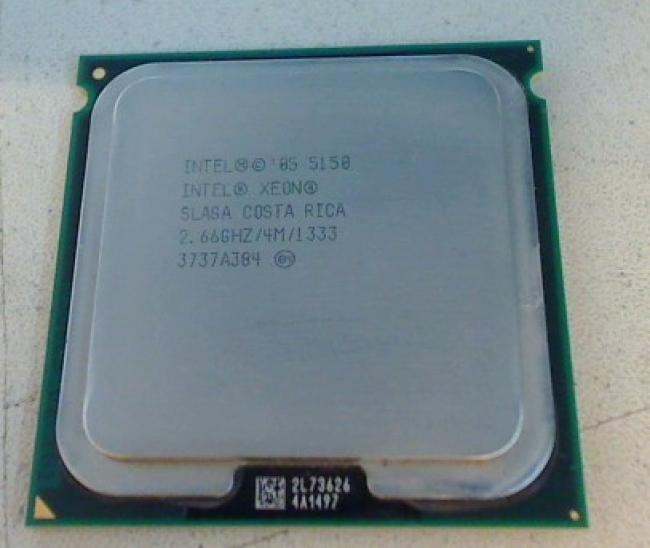 2.66 GHz Intel Xeon Dual Core SLAGA CPU Prozessor Apple Mac Pro 579C-A1115 (2007
