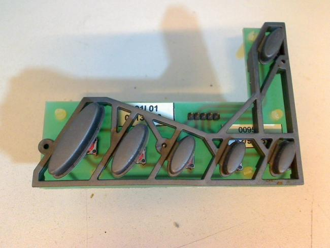 Bedienfeld Board Platine Elektronik Tasten Saeco Royal Digital SUP015