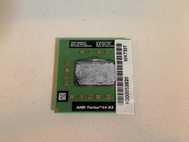 1.6 GHz AMD Turion 64 X2 TL52 TL-52 CPU Toshiba Satellite A210-109