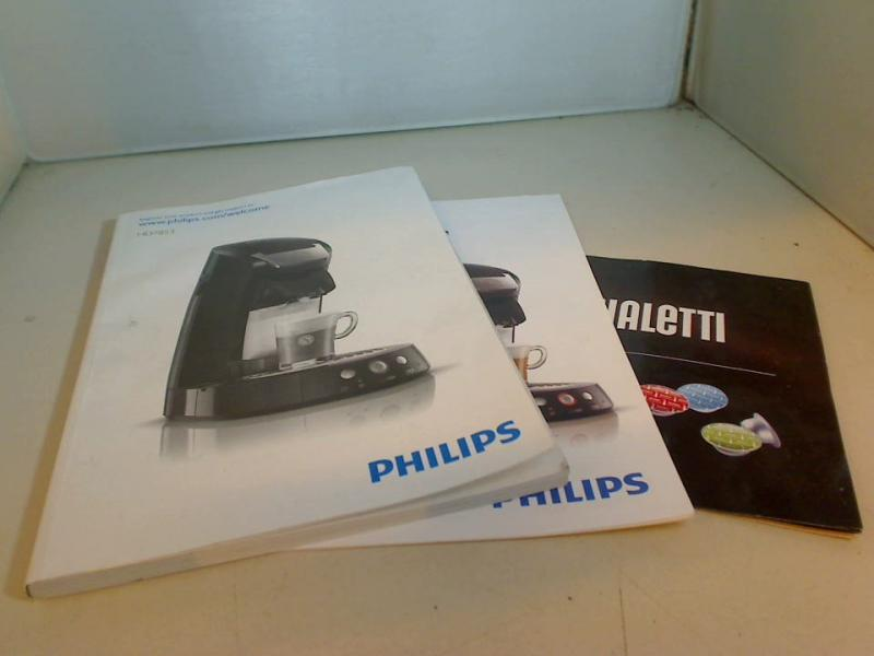 Original user manual Philips Senseo HD7853