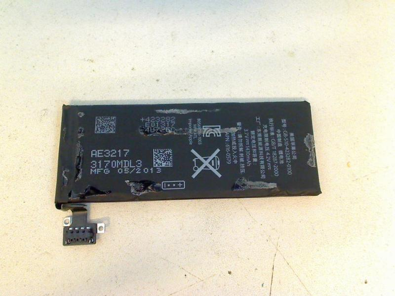 Original AKKU 3.7V 1430mAh GB-S10-423282-0100 Apple Iphone 4S A1387