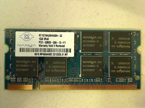 1 GB DDR2 NANYA 5300 Apple Macbook Pro 17.1""