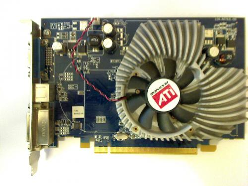 ATI X1650Pro 256MB graphics card Fujitsu Siemens Scaleo P