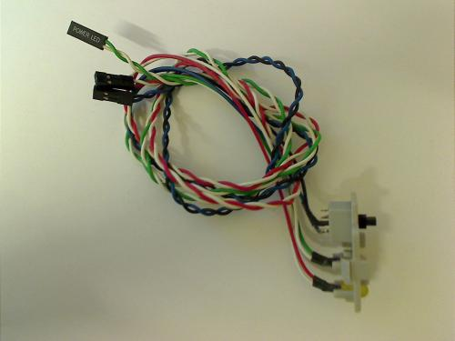 Power Switch LED Kabel Cable Einschalter Fujitsu Siemens Scaleo P
