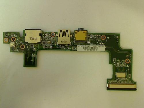 Lan USB Audio Power Switch Board Asus Eee PC 1025C